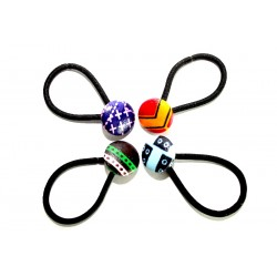 Set de 4 élastiques rond